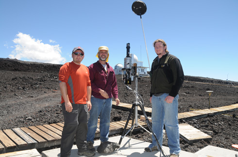optics research in Hawaii