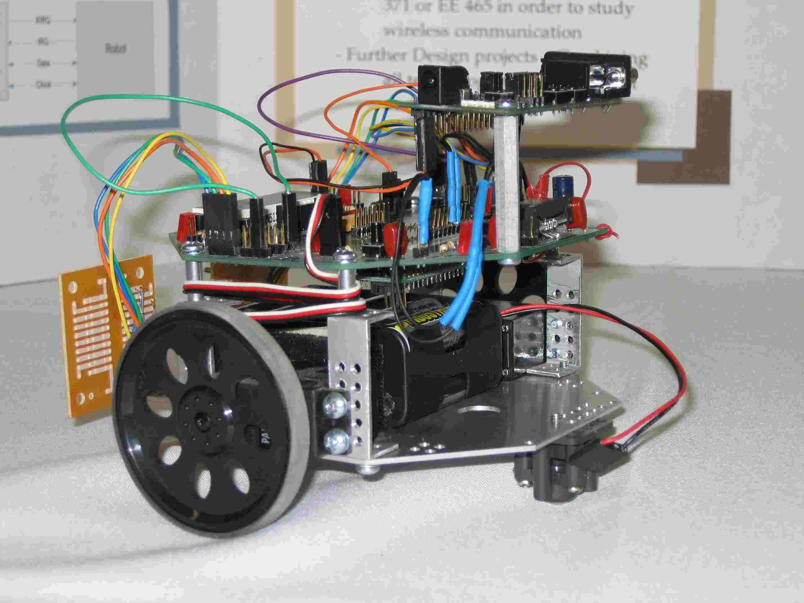 MSU - Wireless ECE Bot
